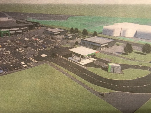 9442438ee209 Planning was lodged this week with South Lanarkshire Council for the  proposed multi million pound facelift of ASDA Blantyre's store and Glasgow  Road ...